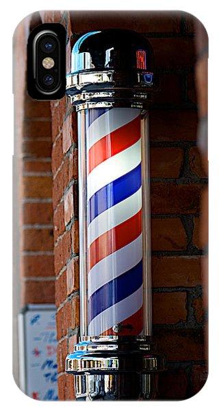 Barber Pole IPhone Case