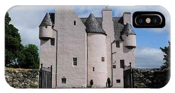 Castle iPhone Case - Barcaldine Castle by Smart Aviation