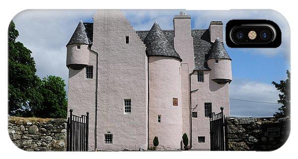 Castle iPhone X Case - Barcaldine Castle by Smart Aviation