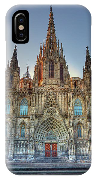 Barcelona Cathedral IPhone Case