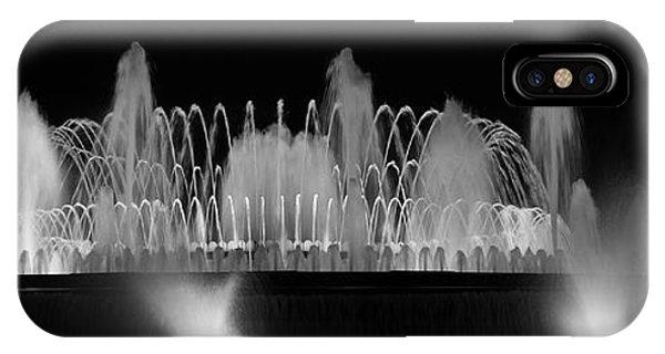 Barcelona Fountain Nightlights IPhone Case