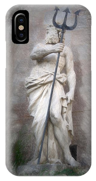 Barcelona - Neptune Statue IPhone Case