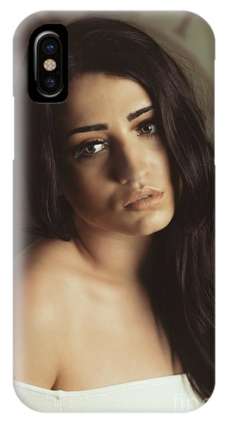 Bare Shoulder Woman IPhone Case