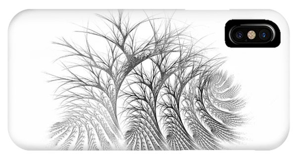 Bare Trees Daylight IPhone Case