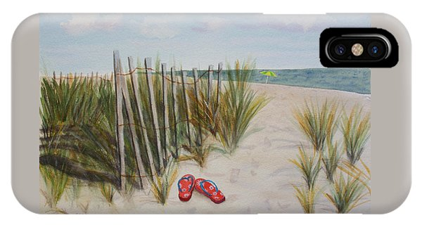 Barefoot On The Beach IPhone Case