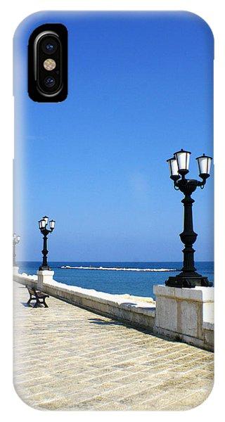 Bari Waterfront Phone Case by Rob Tullis