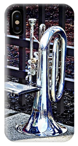 Baritone Horn Before Parade IPhone Case