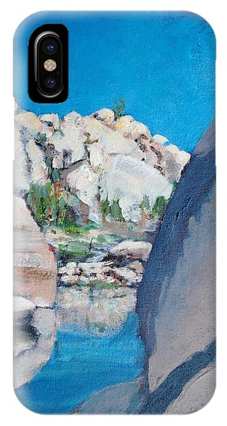 Barker Dam IPhone Case