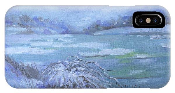 Barlow Pond Snowscapr IPhone Case