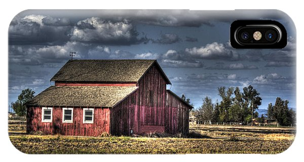 Barn After Storm IPhone Case