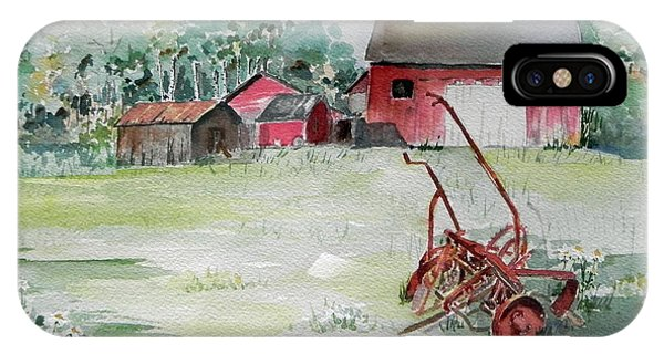 Barn And Cultivator IPhone Case