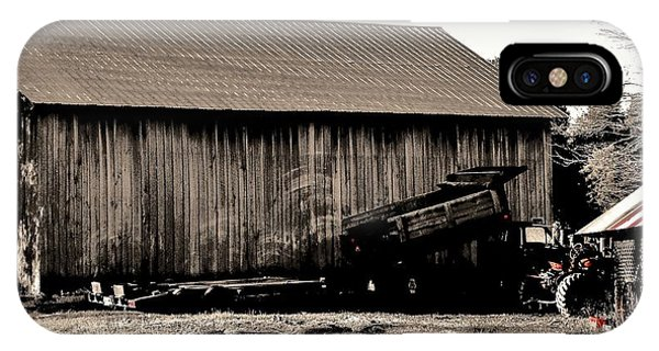 Barn And Truck IPhone Case