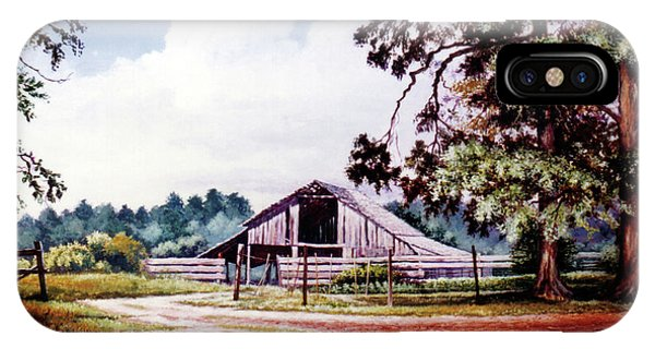 Barn At Honey Island IPhone Case