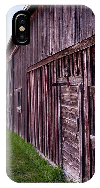 Barn Door Small IPhone Case