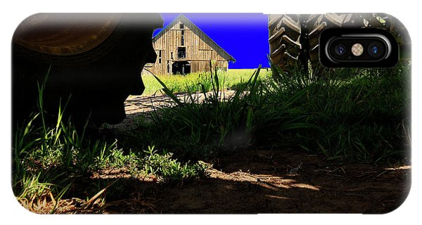 Barn From Under The Equipment IPhone Case