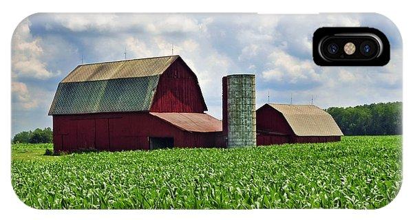 Barn In The Corn IPhone Case