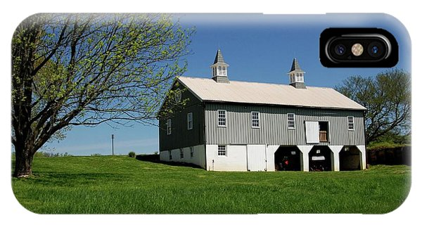 Barn In The Country - Bayonet Farm IPhone Case