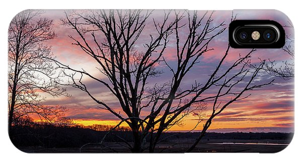 IPhone Case featuring the photograph Barn Island - Pawcatuck Ct by Kirkodd Photography Of New England