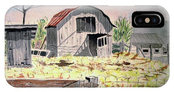 Barn On Fisk Rd IPhone Case