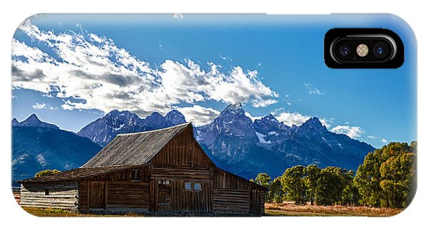 Barn On Mormon Row IPhone Case