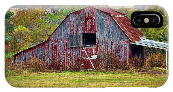 Barn On White Oak Road 2 IPhone Case