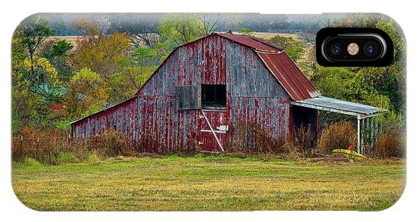 Barn On White Oak Road IPhone Case