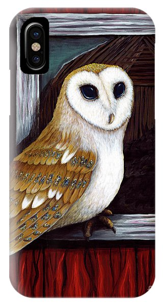 Barn Owl Beauty IPhone Case