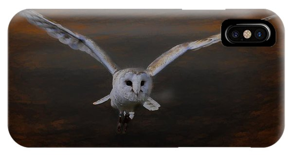 Barn Owl Drama IPhone Case