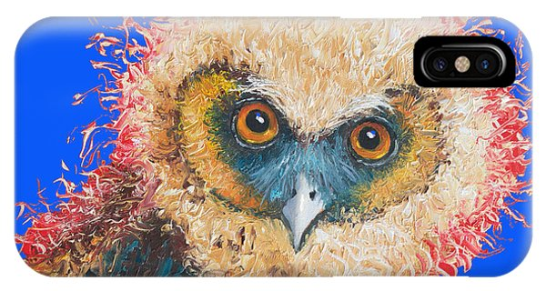 Barn Owl Painting IPhone Case