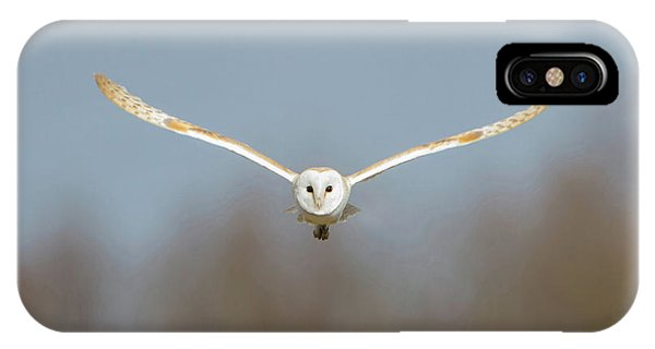 Barn Owl Sculthorpe Moor IPhone Case