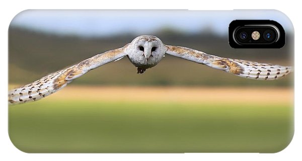 Barn Owl Swoop IPhone Case
