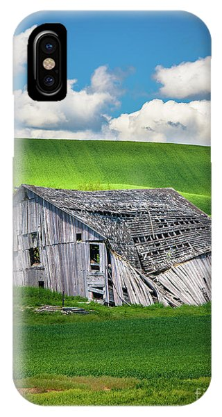 Barn Ruin IPhone Case