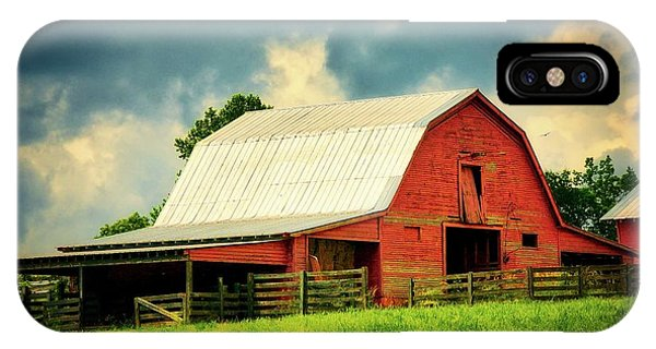 Barn Storm, Greenville, Sc IPhone Case