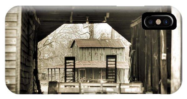 Barn Through A Barn IPhone Case