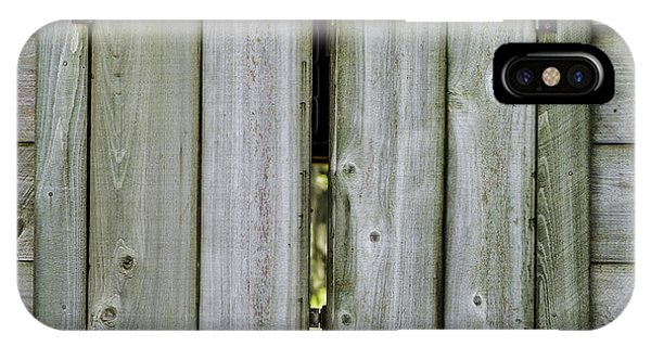 Barn Window, In Color IPhone Case
