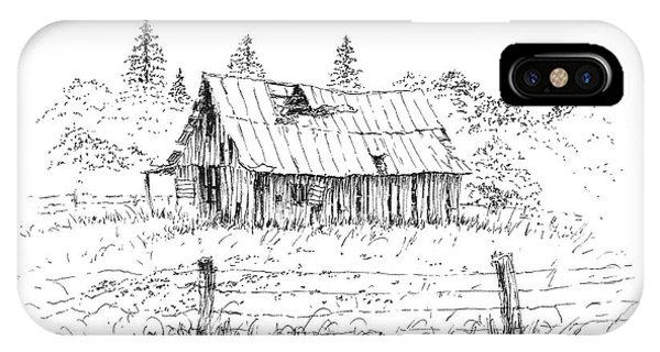 Barn With Skylight IPhone Case