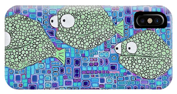 Barnacle Fish IPhone Case