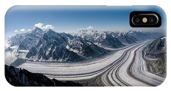 Barnard Glacier Alaska IPhone Case