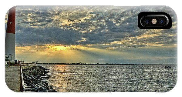 Barneget Lighthouse  New Jersey IPhone Case