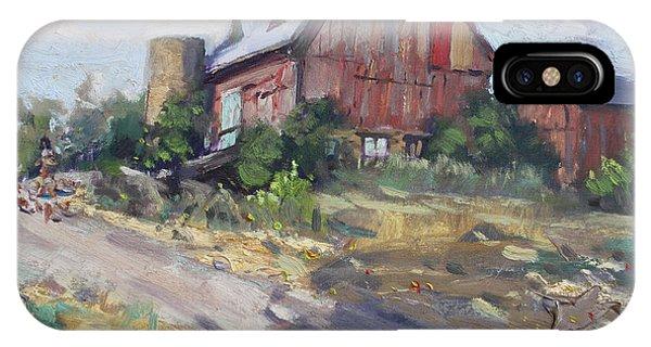 Georgetown iPhone Case - Barns In Georgetown by Ylli Haruni