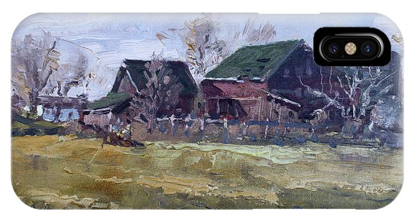 Barn iPhone Case - Barns In Niagara County by Ylli Haruni