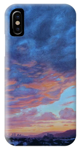 Barnsdall Hill IPhone Case