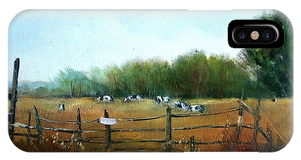Barnyard Chatter Phone Case by Sally Seago