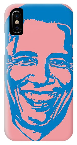 Barrack Obama Silhouette Art Image IPhone Case
