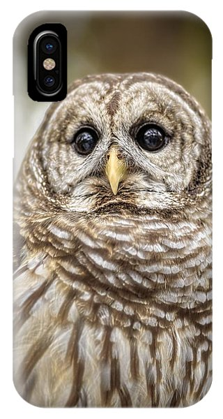 IPhone Case featuring the photograph Hoot by Steven Sparks