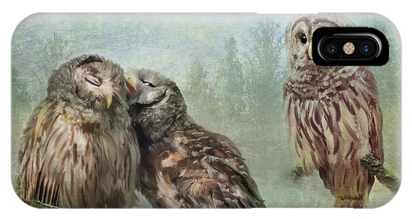 Barred Owls - Steal A Kiss IPhone Case