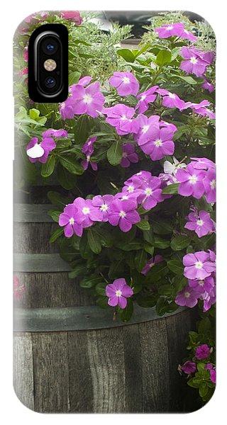 Barrel Of Flowers IPhone Case