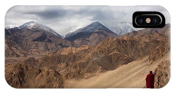 Barren Himalayas IPhone Case