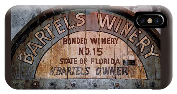 Bartels Winery IPhone Case