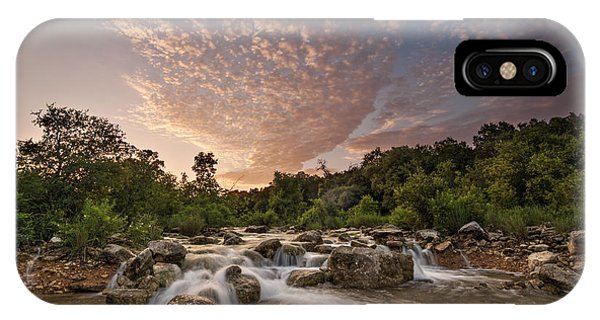 Barton Creek Greenbelt At Sunset IPhone Case